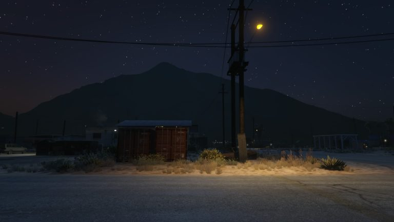 "Sebastien Arrighi, Simile #7 - 2016 Landscape of the American ""Far West"", made inside a video game"
