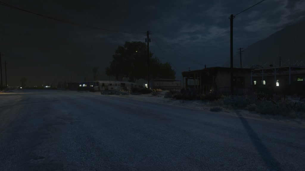 "Sebastien Arrighi, Simile #9 - 2016 Landscape of the American ""Far West"", made inside a video game"