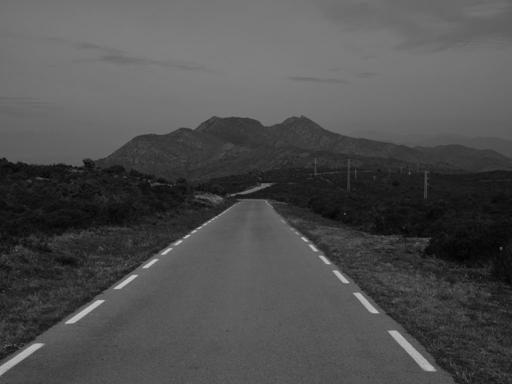 "Sebastien Arrighi, Road - 2019/2020. Photography from the series ""Shivers"""