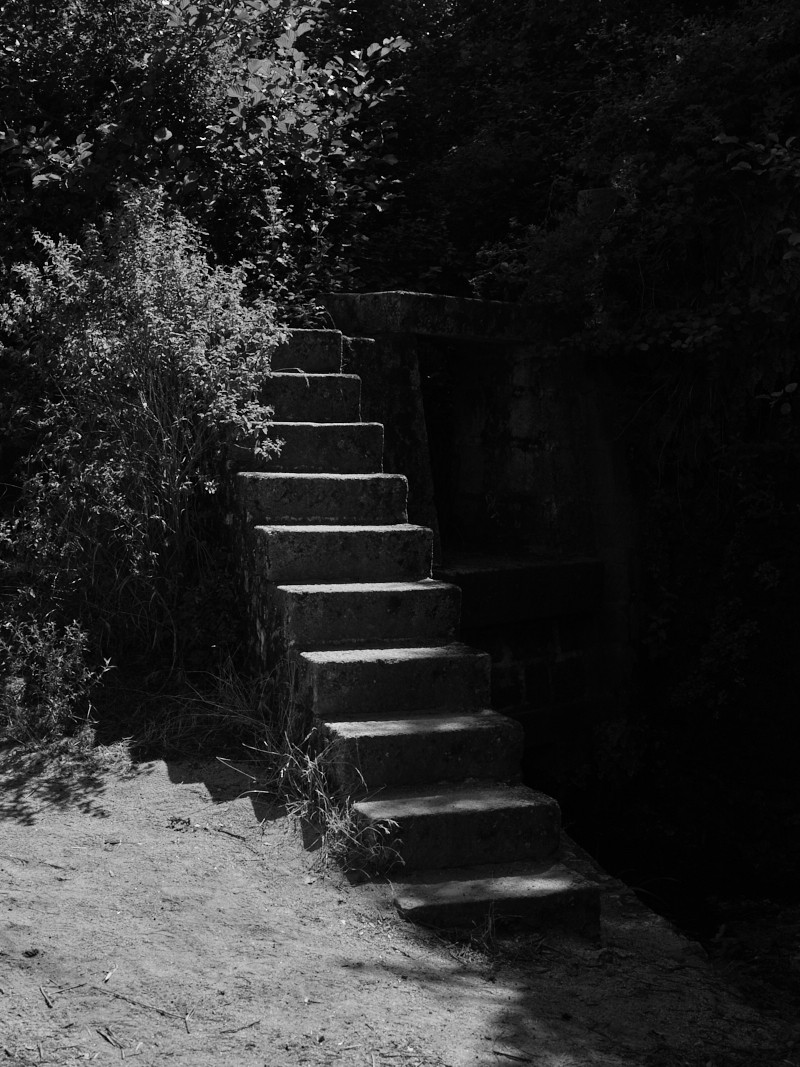 """Sebastien Arrighi, Stairs - 2019/2020. Photography from the series """"Shivers"""""""